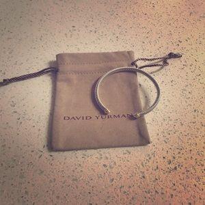 David Yurman 4mm cuff size M